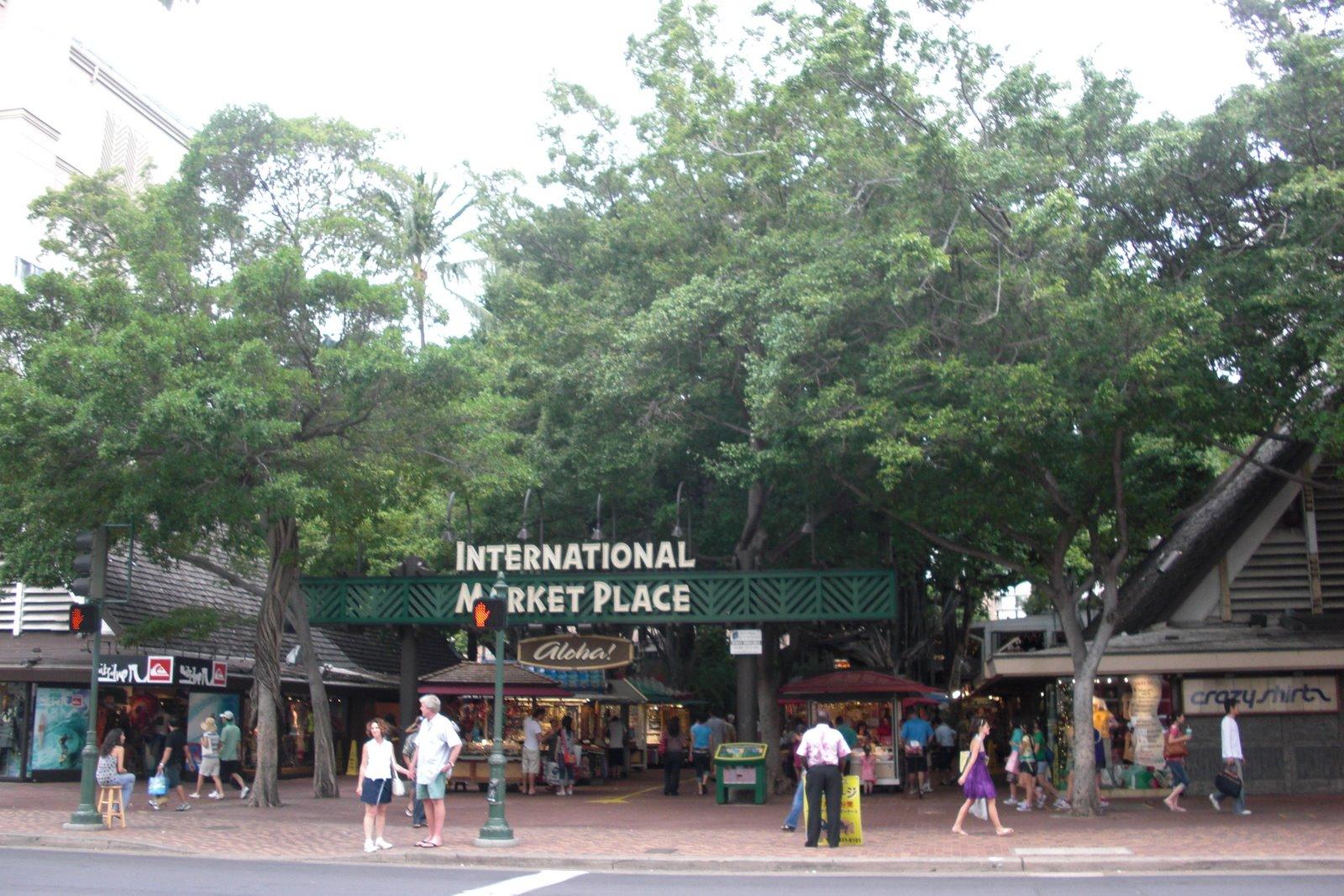 Honolulu International Marketplace International Marketplace For